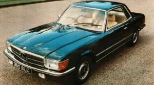 Mercedes Benz 350-450 SLC