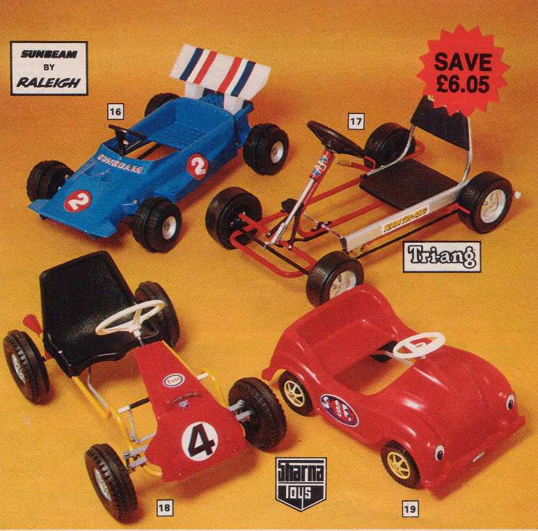 Peddle Racing Cars