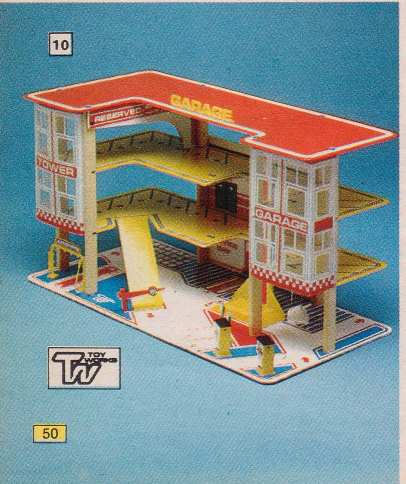 Toyworks 3 Tier garage