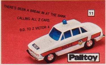 Z Victor 4 Police Car