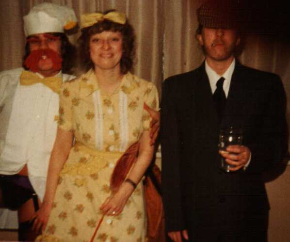 70s Fancy Dress Madness