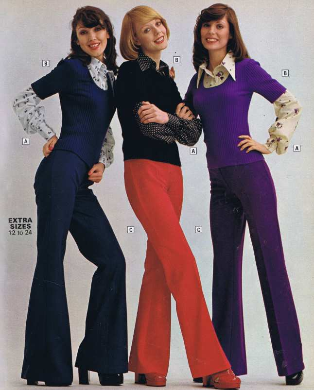 Fashion 70s Scrap Book