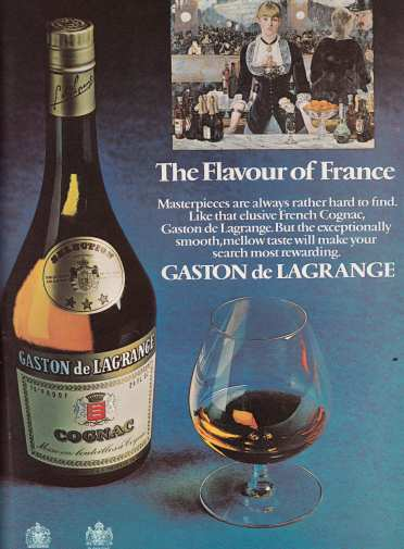 Gaston de Lagrange Oct '72