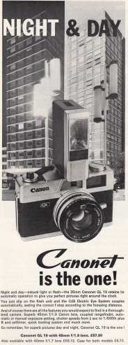 Canonet QL 19 May '72