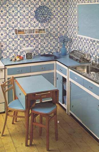 70s Style Kitchen