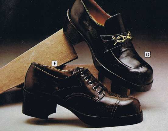70s Men's Platform Shoes