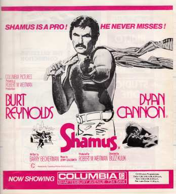 Shamus advert 1973