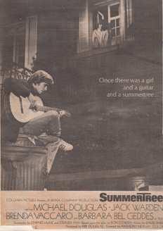 Summertree advert 1973