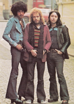 Thin Lizzy with Platforms & Flares