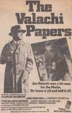 Valachi Papers advert 1973