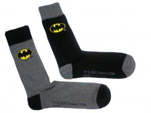 Batman Logo Socks 2 Pack (£5.99)