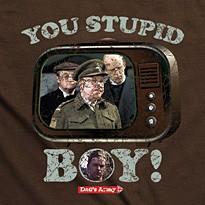 Stupid Boy – Dad's Army T Shirt (£14.99)