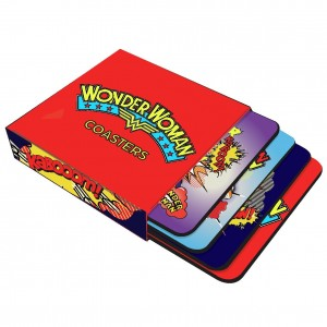 Wonder Woman Set of 4 Coasters (£6.99)