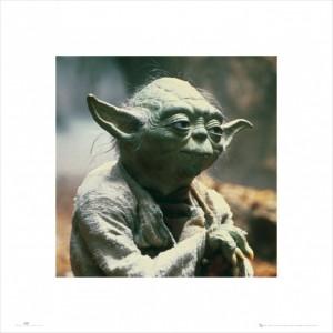 Star Wars – Yoda Art Print (£6.99)