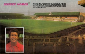 Ayresome Park Middlesborough Ground