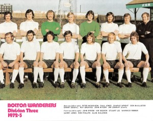 Bolton Wanderers Squad 1972-1973