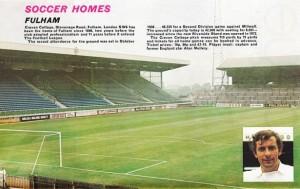 Fulham Ground 1970s