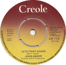 John Asher – Let's Twist Again