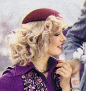 Curly Toussled Look 70s Hairstyle
