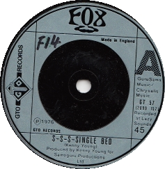 Fox – S-S-S-Single Bed
