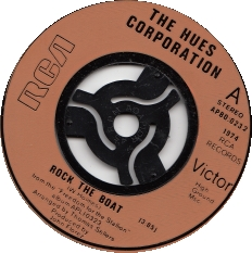 The Hues Corporation – Rock the boat