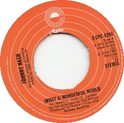 Johnny Nash – What a Wonderful World