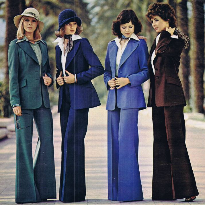 Polyester Trouser Suits