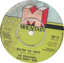 The Sensational Alex Harvey Band – Boston Tea Party
