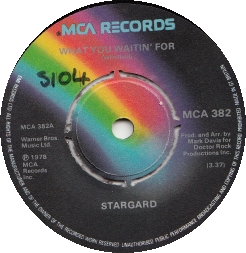 Stargard – What you waitin' for