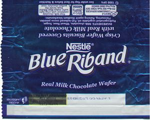 Blue Riband – The only funny thing about this was the advert. Where the mum gives the boy a Blue Riband to give to the sad singing Mike Beery anything to get him to stop singing!