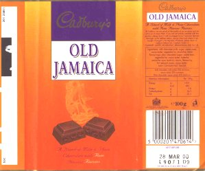 Old Jamaica 70s Sweets