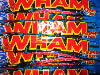 Wham Bars – A long pink chew with fizz