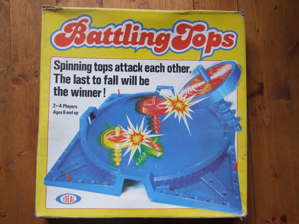 70s Toys And Games : Battling tops s toys