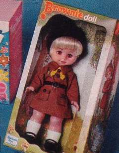 Brownie Doll 70s Toys