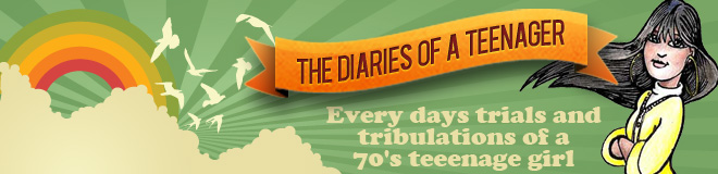 Diaries of a 70s Teenager Header Image